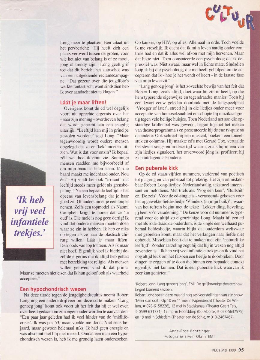 1999-05  Plus  Robert Long 2