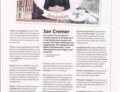 Jan Cremer – Groeten uit Amsterdam, maart 2013