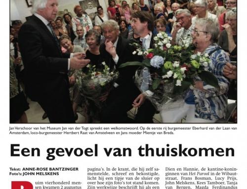 Jan van Breda-opening in Museum Jan van der Togt, Amstelveen (2015)