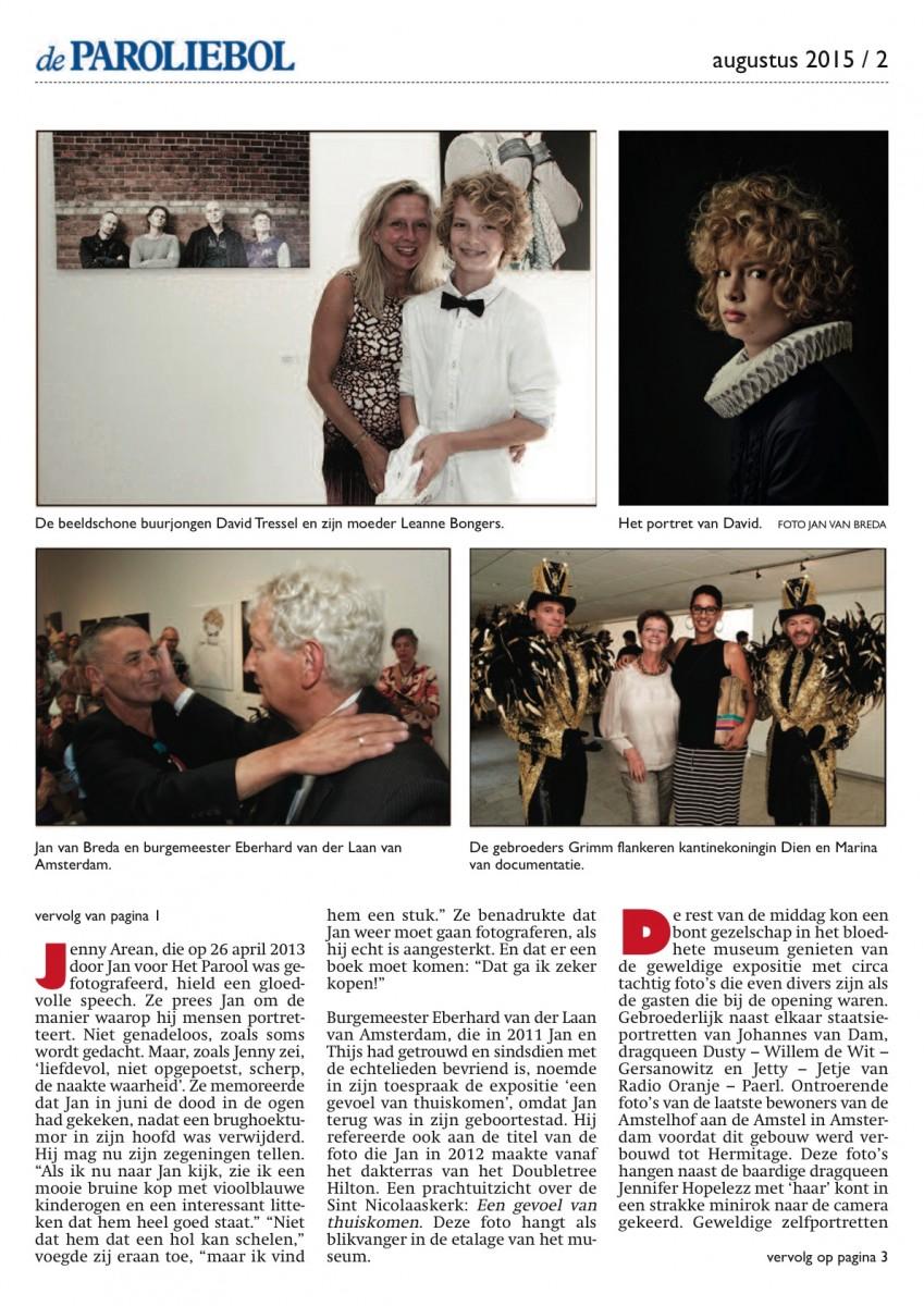 Jan van Breda-opening in Museum Jan van der Togt (2015) - pagina 2