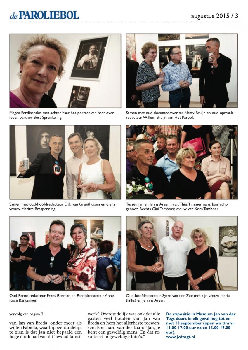 Jan van Breda-opening in Museum Jan van der Togt (2015) - pagina 3