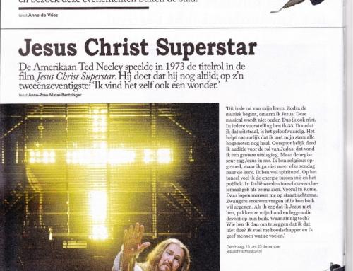 Ted Neeley (72) is nog steeds Jesus Christ Superstar
