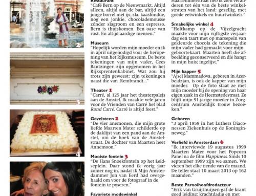 2013: Mijn Amsterdam van Anne-Rose