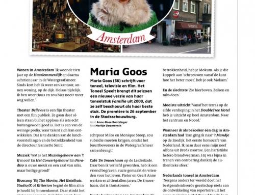 Maria Goos – Groeten uit Amsterdam september 2013