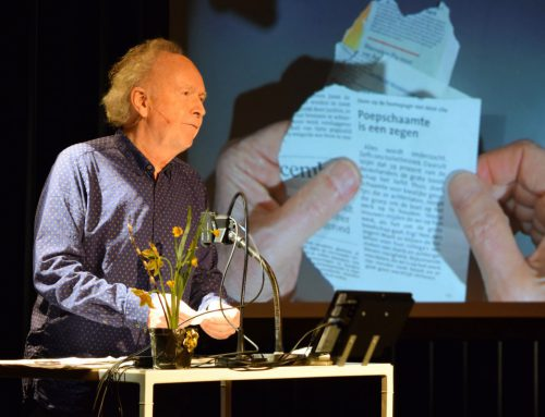Paul Haenen: boeiende spraakwaterval